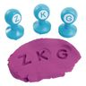 Colorations® Alphabet Dough Stampers Set of 26