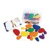 Rainbow Counting & Sorting Pebbles