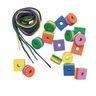 Colorations® Bright Stripe Beads 200 Beads