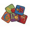 """Reading by the Book 12"""" Squares - Set of 26 Kids Value PLUS Carpets"""