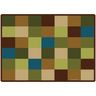 Nature Blocks Seating 5'10 x 8'4 Rectangle Premium Carpet