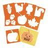 Colorations® Fall and Thanksgiving Stencils Set of 8