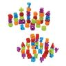 Letter & Number Stacking Blocks 70 Pieces