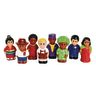 "Around The World 3""H People Set of 8"
