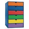 Classroom Keepers 6-Shelf Drawer Set