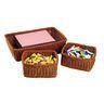 Washable Tray & Storage Baskets