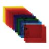 Cellophane Sheets Assorted Colors Pack of 48