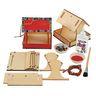 Colorations® Easy-Build Bird Feeder Set of 6