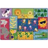 Jungle Jam Counting Rug 4' x 6'