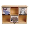 Environments® 6-Section Toddler Storage Cubby with Play Top
