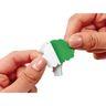 Colorations® Self-Adhesive Fruit & Veggie Foam 500 pieces