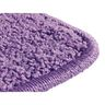 KIDply® Soft Lilac 4' x 6' Rectangle Solid Carpet
