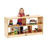 Toddler Divided Shelf Mobile Storage Plexiglas® Back