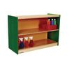 "Environments® 24"" Forest Wood Straight Shelf - Green"