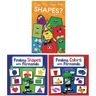 Colors And Shapes Book Set with Stencils