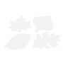 Colorations® Jumbo DYO Leaf Set of 24