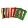 Colorations® Fall Weaving Mats Kit for12