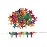 Sparkle Cross Beads Assorted Colors 75 Pieces