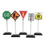 Double-Sided Traffic Signs Set of 5