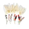 Colorations® All Natural White Feathers Set of 48