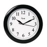"Analog Wall Clock 10"" Black"