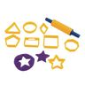Geo Shapes Dough Cutters Set of 9