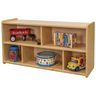 "2-Shelf Storage Unit, 24""H - Maple/Maple, Assembly Required"