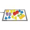 Excellerations® STEM Translucent Geometric Shapes with Activity Cards
