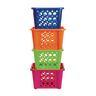 Cubbie Storage Mini Stack Set of 4, Assorted Colors