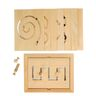 Excellerations® Classroom Wooden Educational Toys  Set 1