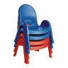 "Angeles® Value Stack™ Chair 9""H Blue"
