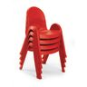 "Angeles® Value Stack™ Chair 11""H Red"