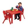 """Angeles® MyValue™ 24""""Square Set with Chairs in Red"""