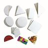 Geometric Collage Board Shapes Set of 56