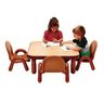 "30"" Square BaseLine® Table, 12""H - Natural Cocoa"