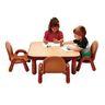"30"" Square BaseLine® Table, 18""H - Natural Cocoa"