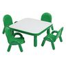 """30"""" Square BaseLine® Table, 12""""H - Green"""