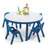 "36"" Round BaseLine® Table, 18"" Leg - Blue"