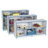 Rainbow Accents® Mobile Shelving, Preschool - Teal