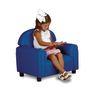 "Preschool Vinyl Chair 12""H Seat Height - Blue"