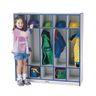 Rainbow Accents® 5-Section Coat Locker - Teal