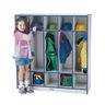 Rainbow Accents® 5-Section Coat Locker - Black