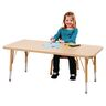 "24"" x 48"" Berries® Maple Prism Activity Table - Rectangle, 24"" - 31"" Leg Height"
