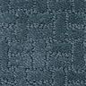 Soft-Touch Texture Rug, Slate Blue - 4' x 6' Rectangle