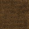 Soft-Touch Texture Dark Brown 4' x 6' Rectangle Solid Carpet