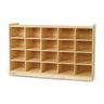 "Angeles Value Line™ Birch Tray Storage - 30""H, No Trays"