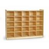 "Angeles Value Line™ Birch Tray Storage - 36""H, No Trays"
