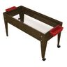 """24"""" Sand & Water Activity Center with Clear Liner - Chocolate"""