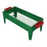 """18"""" Toddler Sand and Water Activity Center with Clear Liner - Green"""