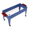 Sand and Water Activity Center - Clear Liner with 4 Casters - Blue